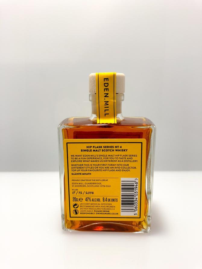 Eden Mill Hip Flask Series No. 4