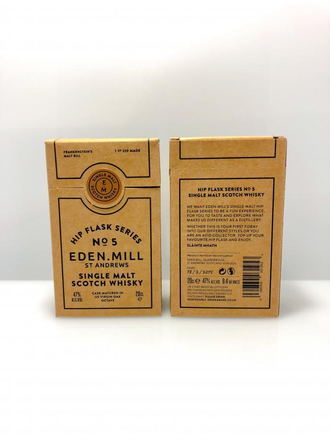 Eden Mill Hip Flask Series No. 5