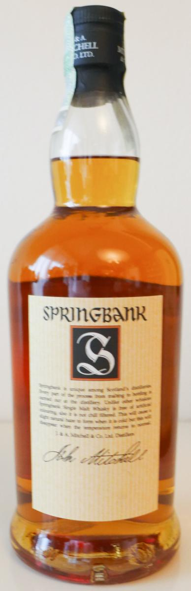 Springbank 10-year-old