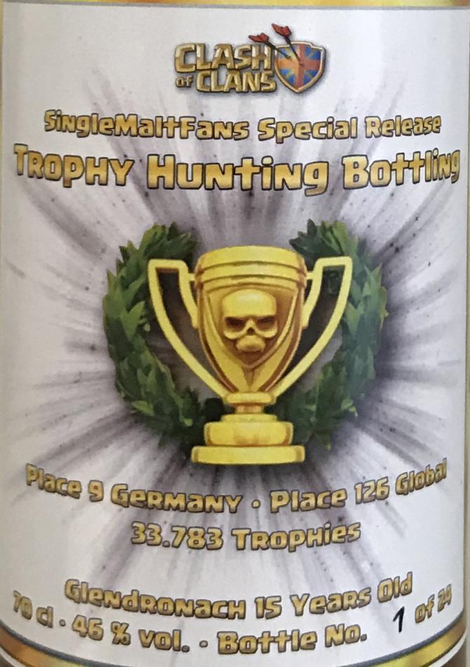 Glendronach Trophy Hunting Bottling