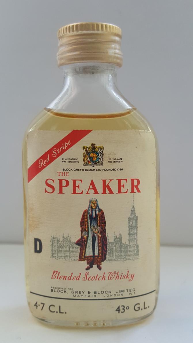 The Speaker Red Stripe BG&B