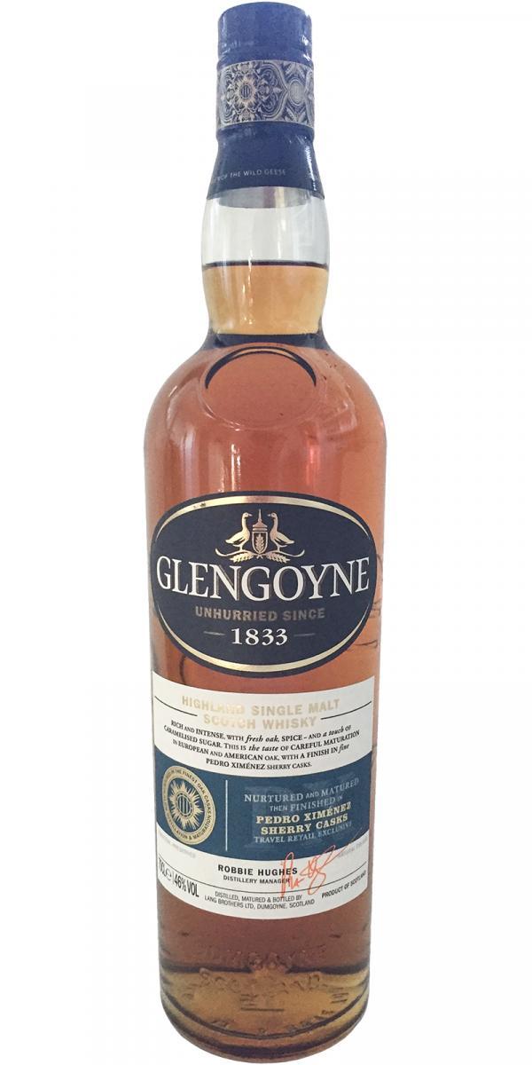 Glengoyne Pedro Ximénez Sherry Casks