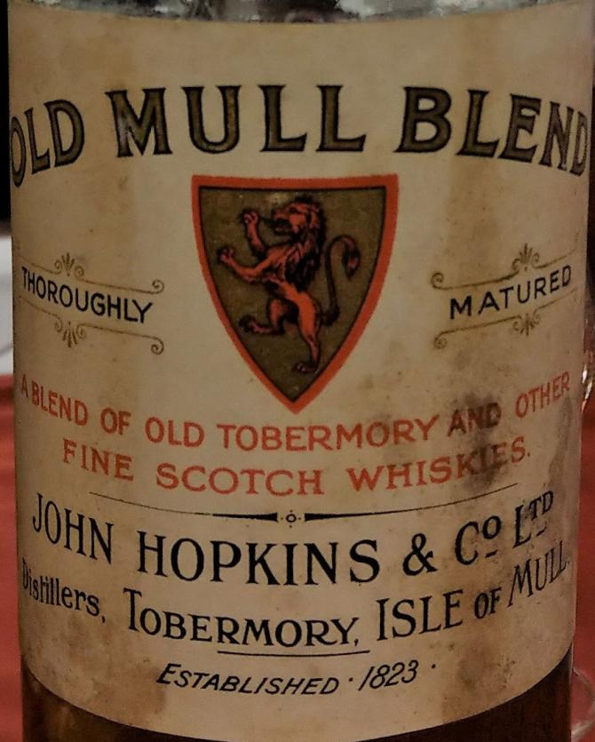 Old Mull Blend Thoroughly Matured