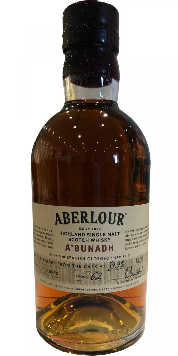 Aberlour A'bunadh batch #62
