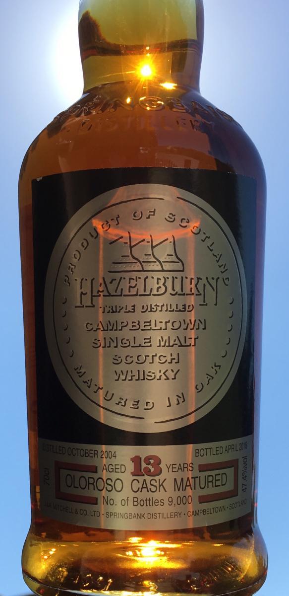 Hazelburn 2004
