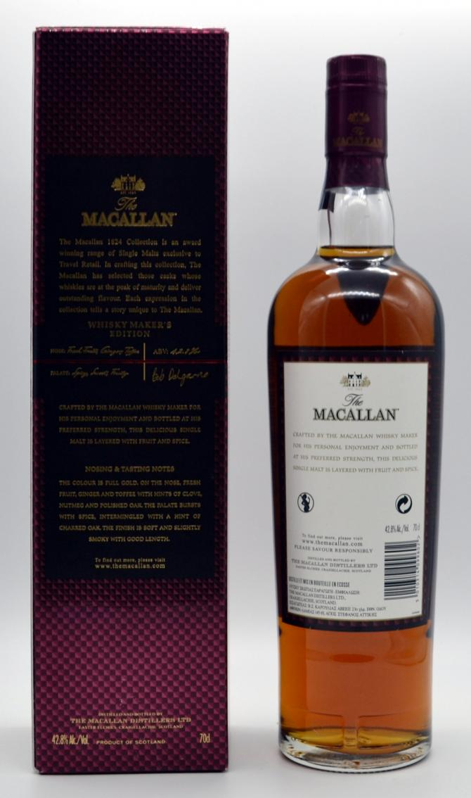 Macallan Whisky Maker's Edition