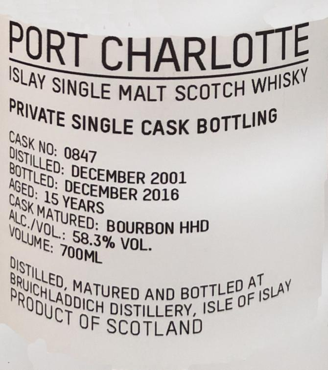 Port Charlotte 2001 Df