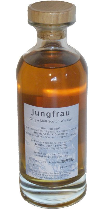 Highland Park 1992 - Jungfrau