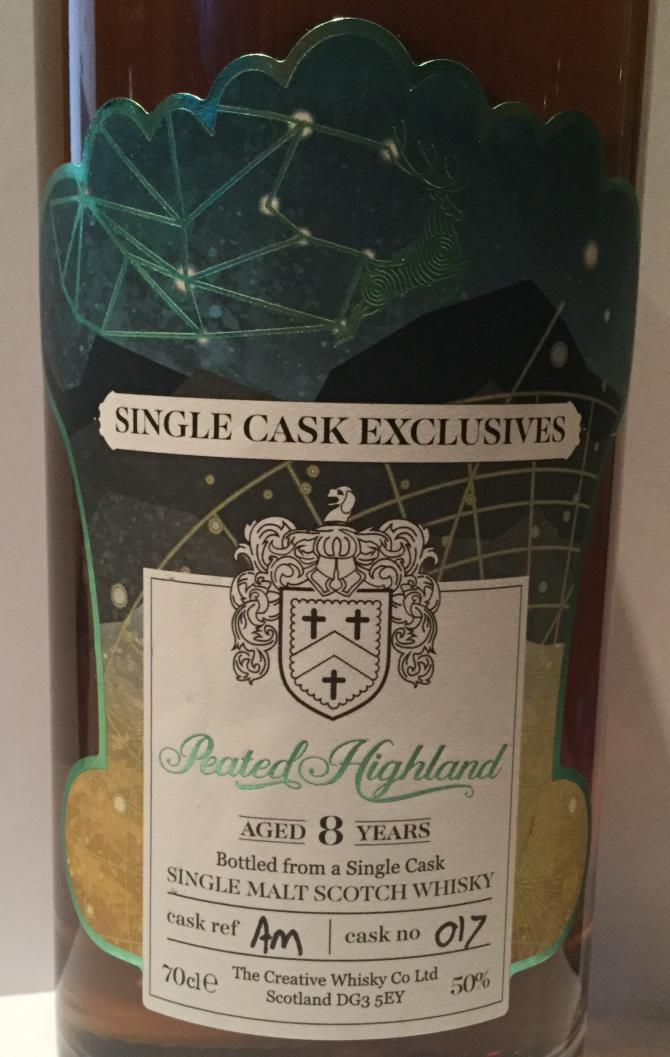 Peated Highland 08-year-old CWC