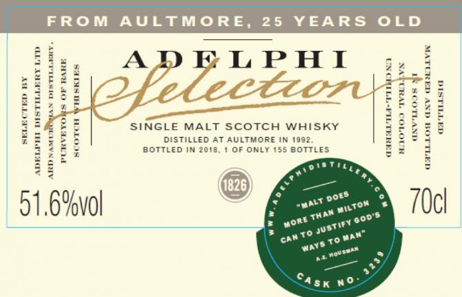 Aultmore 1992 AD