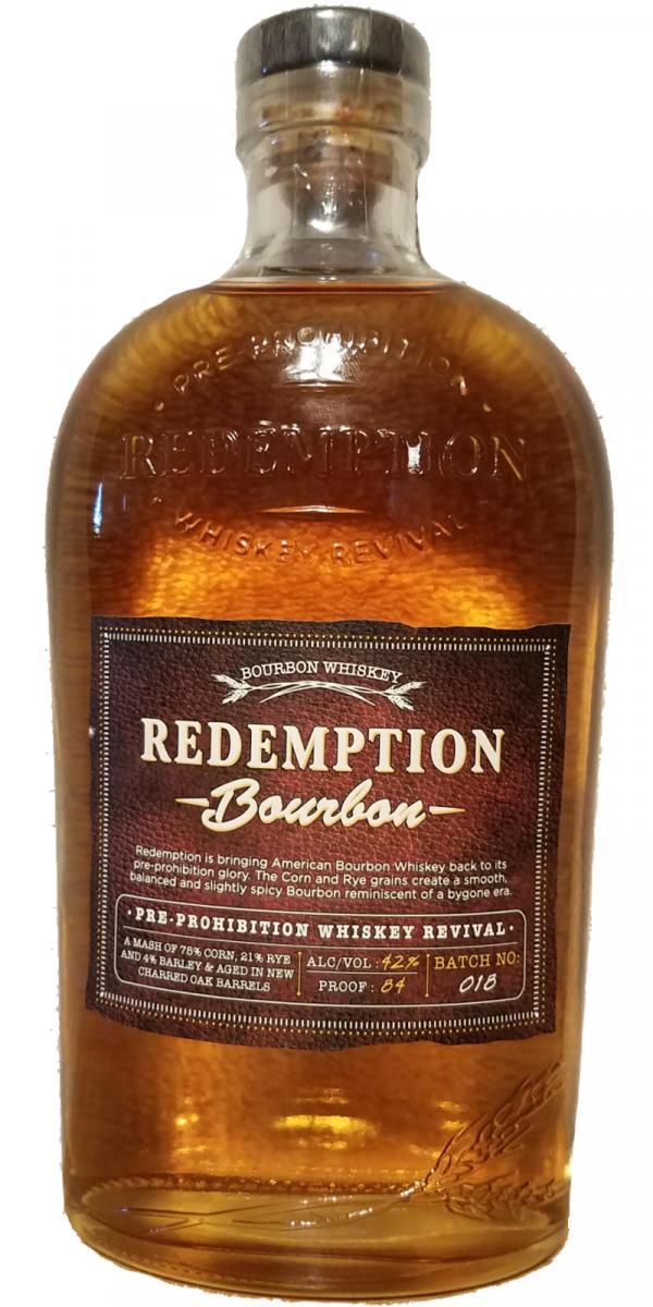 Redemption Bourbon Whiskey