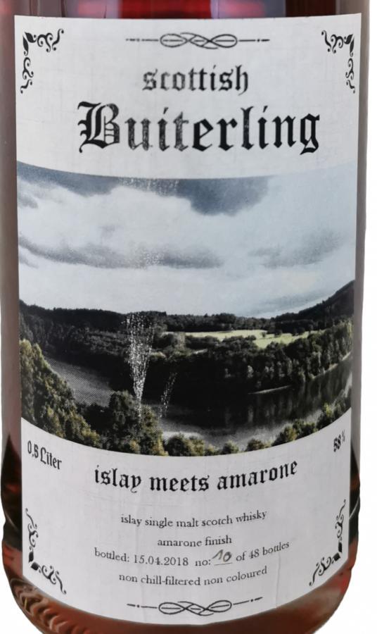 Scottish Buiterling Islay meets Amarone ScB