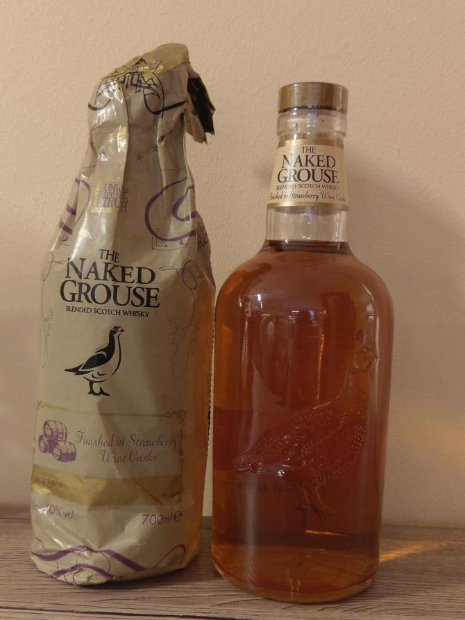 The Naked Grouse Strawberry Wine Cask Finish