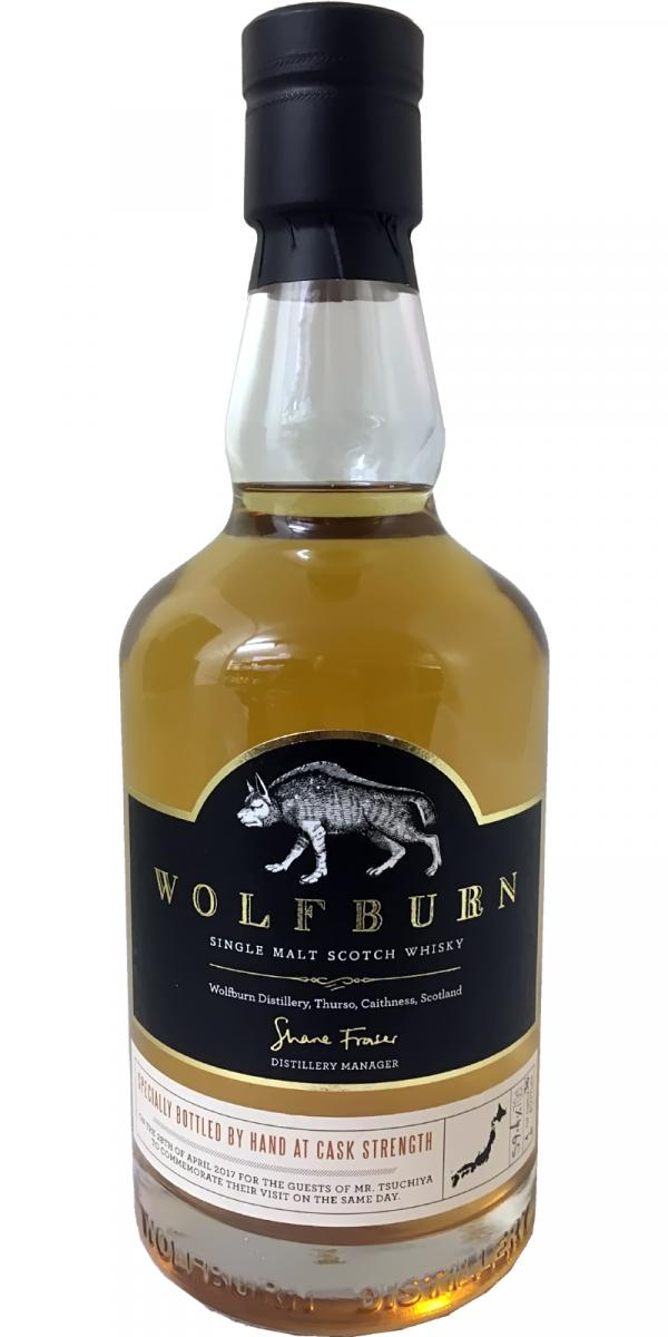 Wolfburn Specially Bottled by Hand at Cask Strength