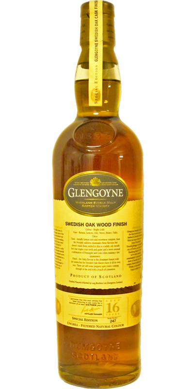 Glengoyne 1992 Swedish Oak