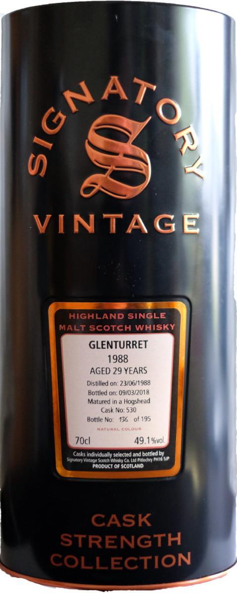 Glenturret 1988 SV