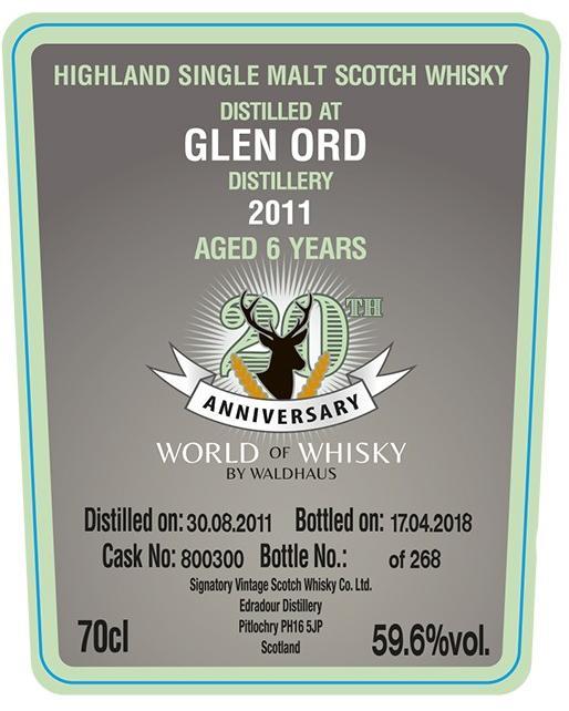 Glen Ord 2011 SV
