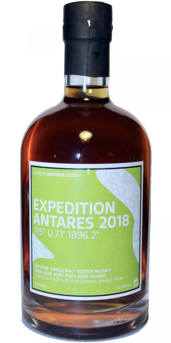 """Scotch Universe Expedition Antares 2018 115° U.7.1' 1896.2"""""""