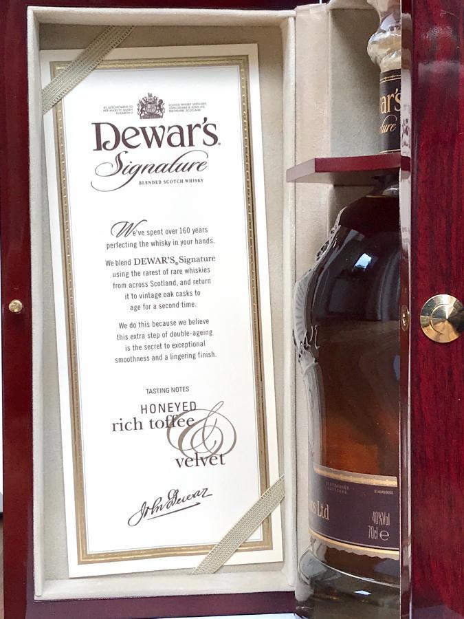Dewar's Signature