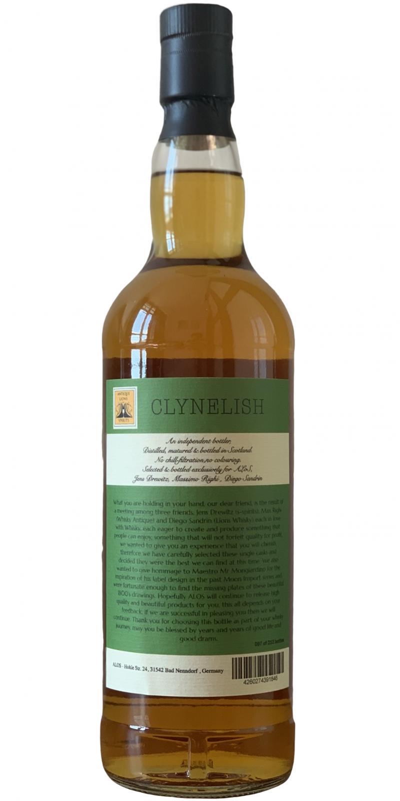 Clynelish 1997 ALOS