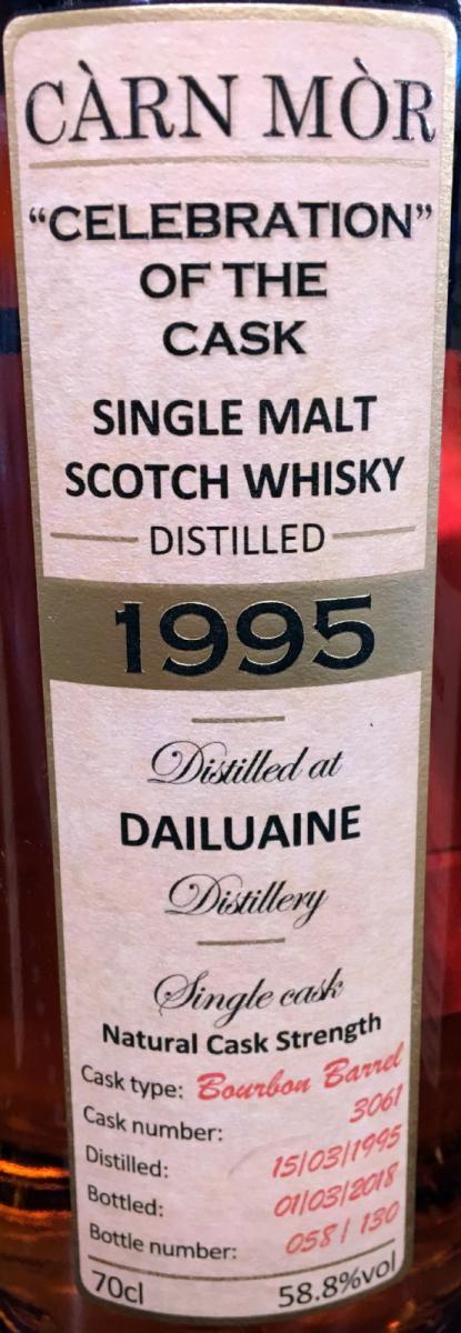 Dailuaine 1995 CM