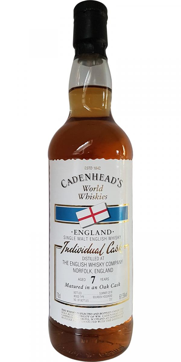The English Whisky 07-year-old CA