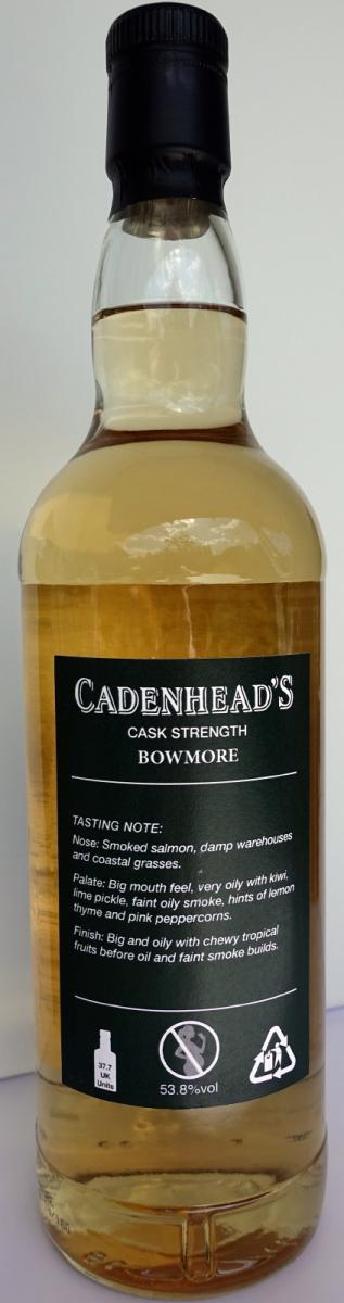 Bowmore 2001 CA