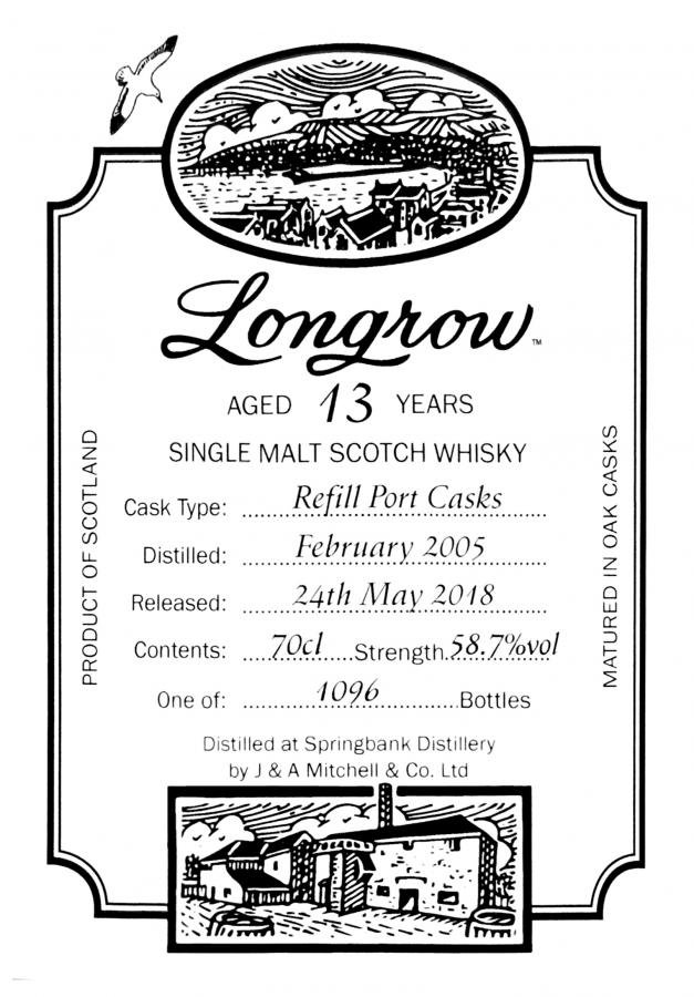 Longrow 2005