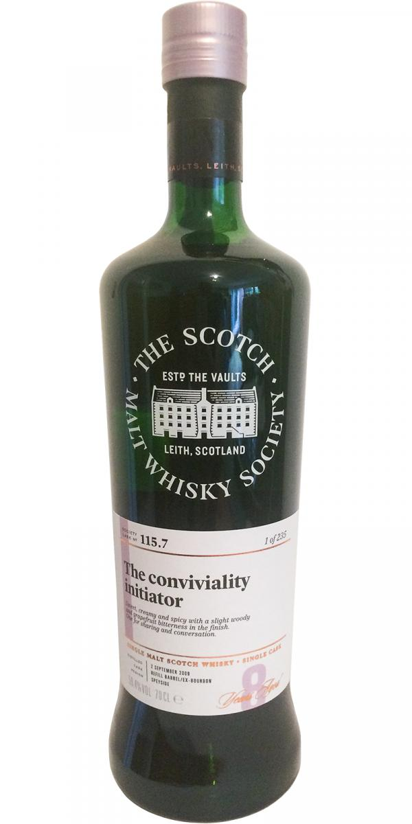 An Cnoc 2009 SMWS 115.7