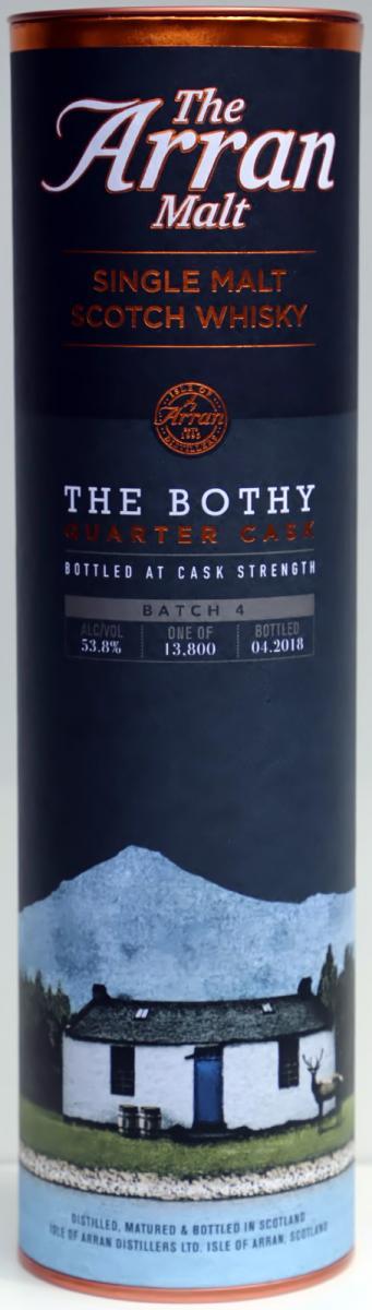 Arran The Bothy - Quarter Cask