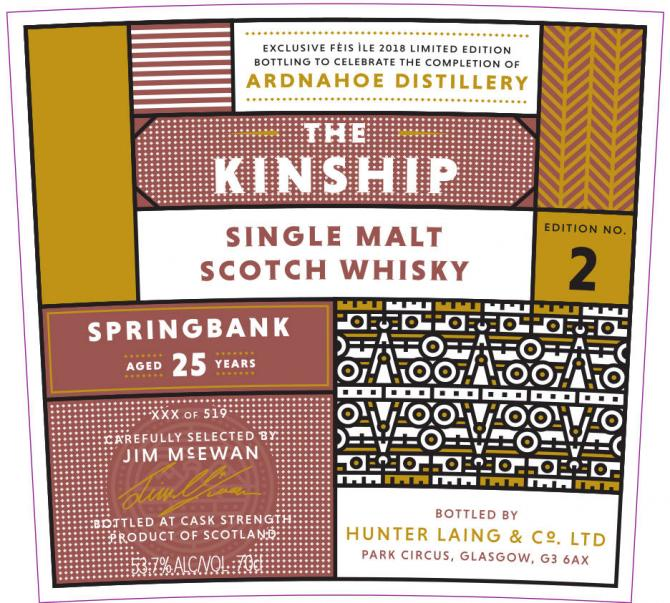 Springbank 25-year-old HL
