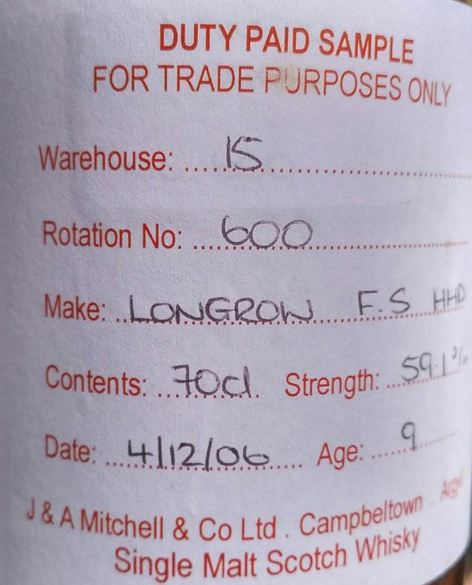 Longrow 2006