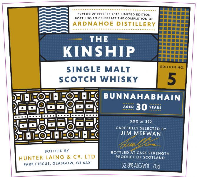 Bunnahabhain 30-year-old HL