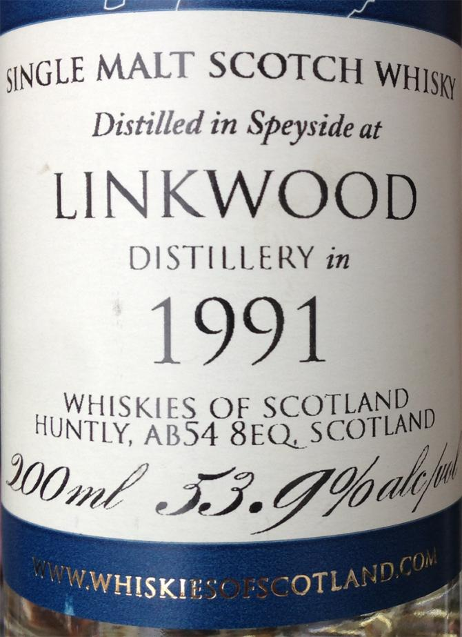 Linkwood 1991 SMD