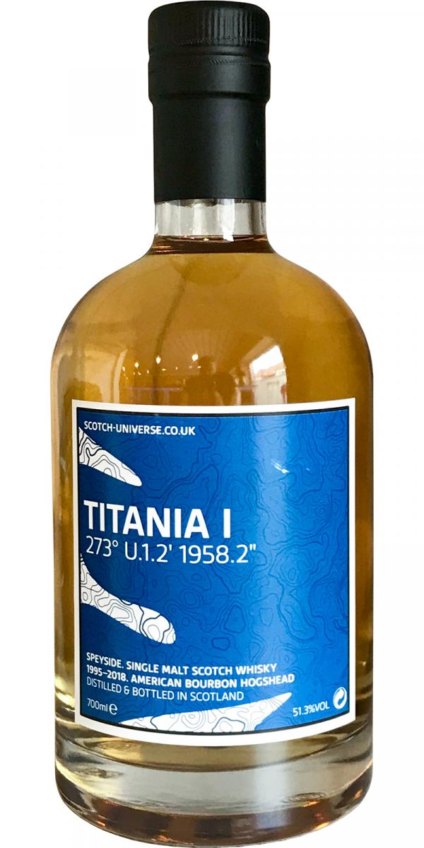 Scotch Universe Titania I - 273° U.1.2' 1958.2''