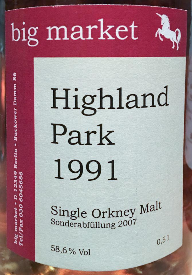Highland Park 1991 BM