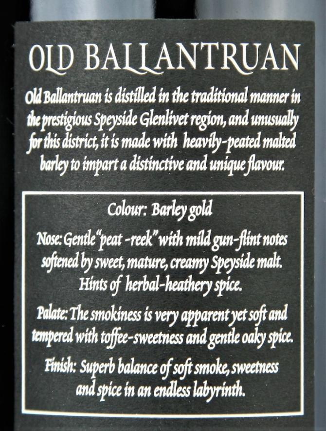 Old Ballantruan 15-year-old