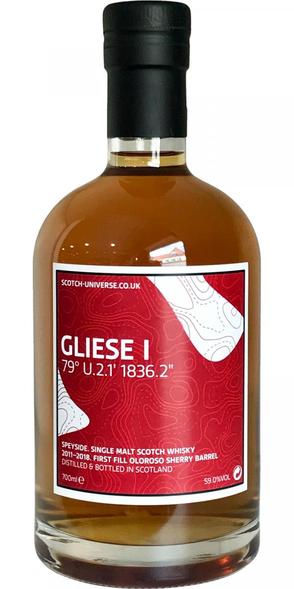 Scotch Universe Gliese I - 79° U.2.1' 1836.2""