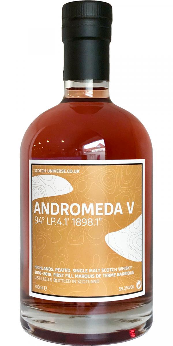 """Scotch Universe Andromeda V - 94° LP.4.1' 1898.1"""""""