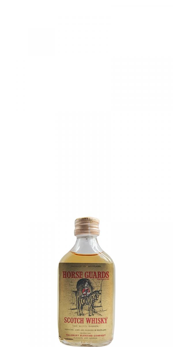 Horse Guards Scotch Whisky