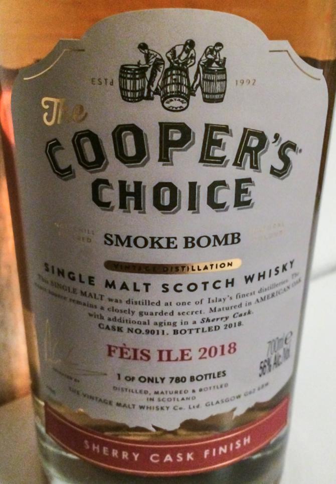 Smoke Bomb Fèis Ile 2018