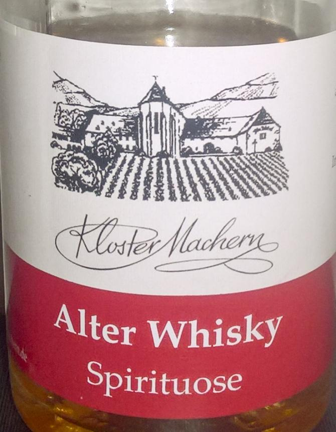 Kloster Machern Alter Whisky