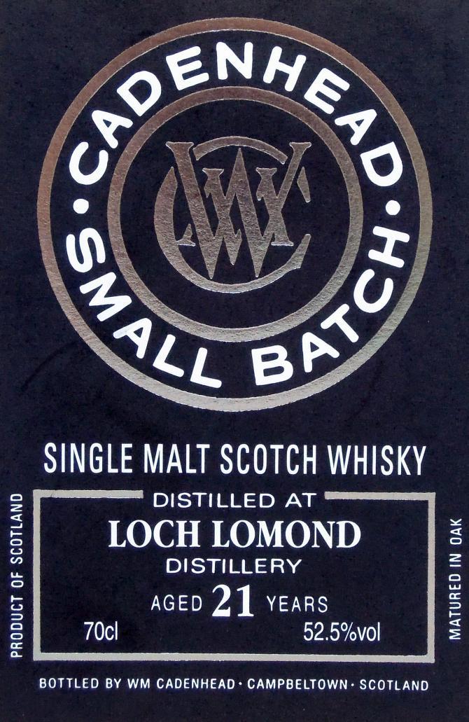 Loch Lomond 1997 CA