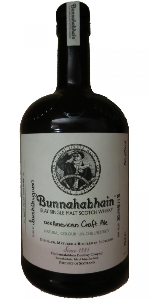 Bunnahabhain American Craft Ale