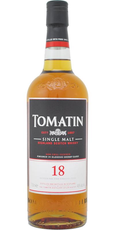 Tomatin 18-year-old