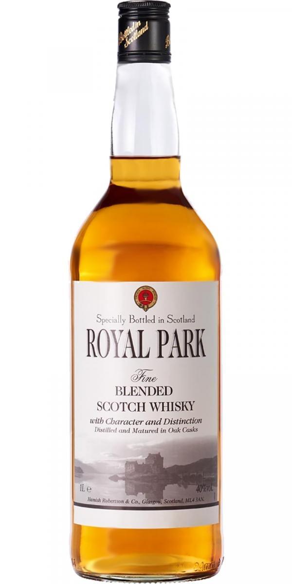 Royal Park Fine Blended Scotch Whisky