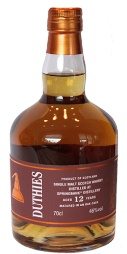 Springbank 12-year-old CA