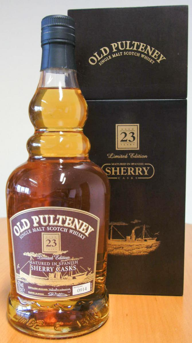Old Pulteney 23-year-old
