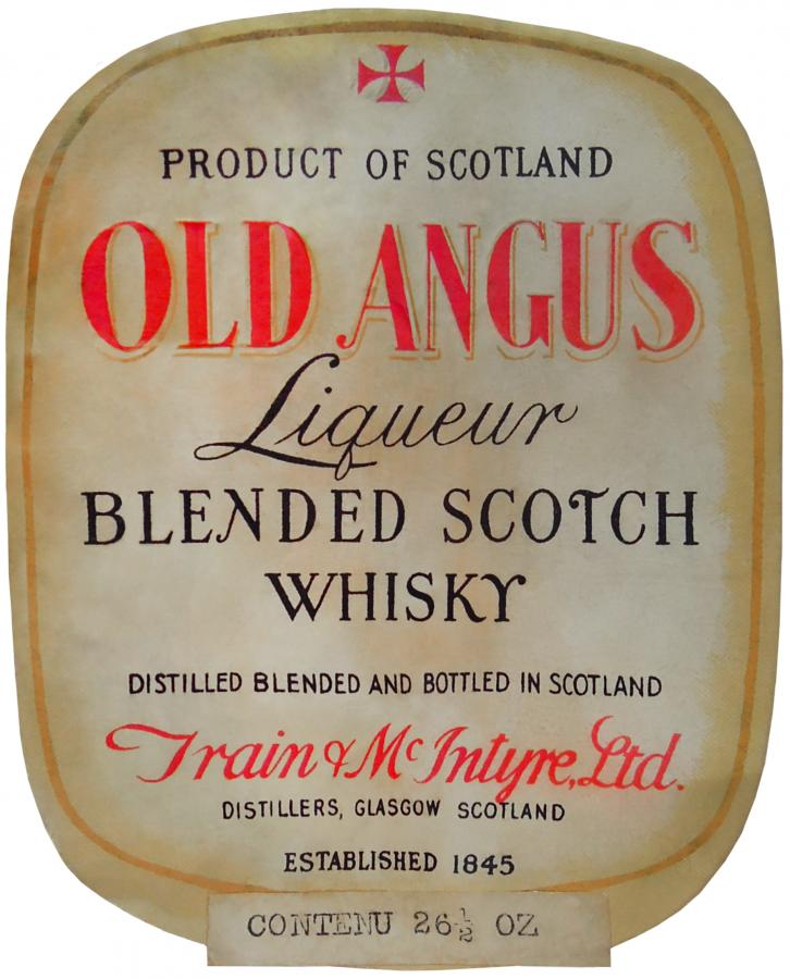 Old Angus Liqueur Blended Scotch Whisky