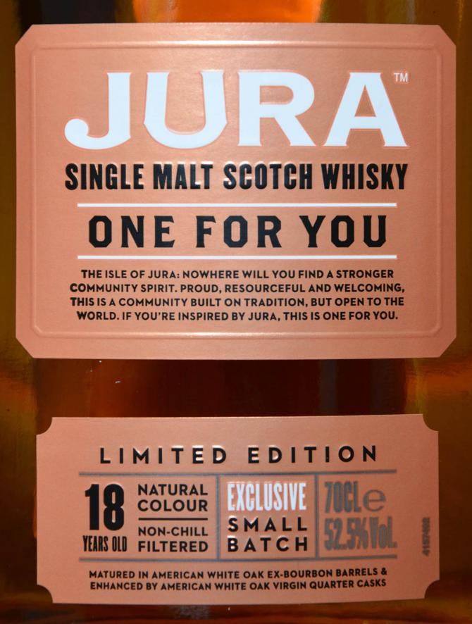 Isle of Jura One for you